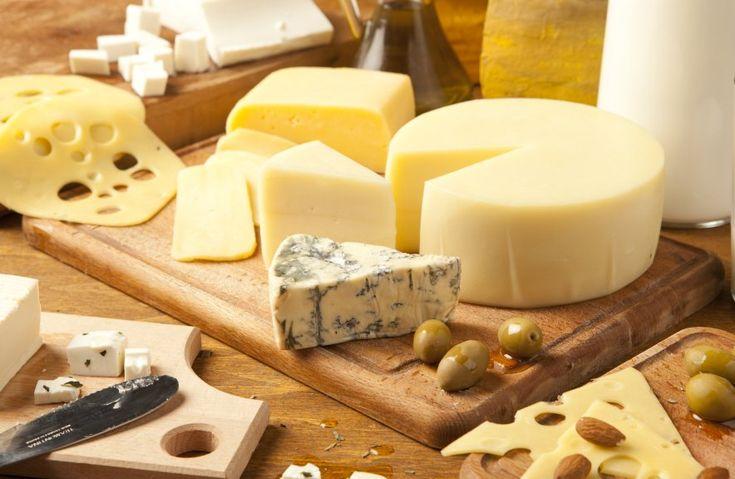 Los 21 tipos de quesos europeos más consumidos en el mundo