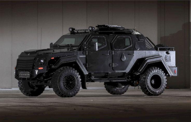 Gurkha RPV from Terradyne: The Toughest Armored Rapid Patrol Vehicle