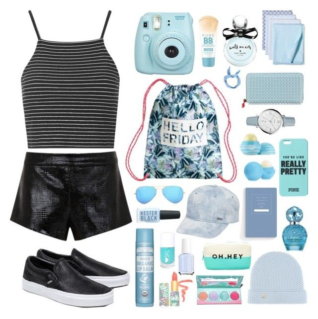 """""""//we know that sometimes it all gets a little too much//"""" by sophroxyne on Polyvore featuring Mason by Michelle Mason, Topshop, Vans, Circo, Maybelline, Kate Spade, Eos, Christian Louboutin, FOSSIL and Boohoo"""