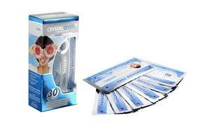 Groupon - Hasta 56 tiras de blanqueamiento dental Crystal Smile desde 18,74 € (65% de descuento). Precio Groupon: 18,74€
