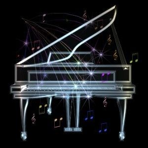love piano music notes picture and wallpaper