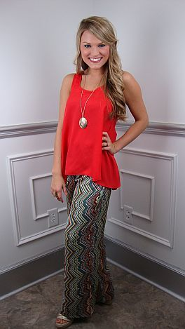 Don't be caught without printed pants! $48