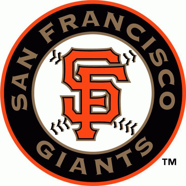 San Francisco Giants Alternate Logo (2000) Orange SF on