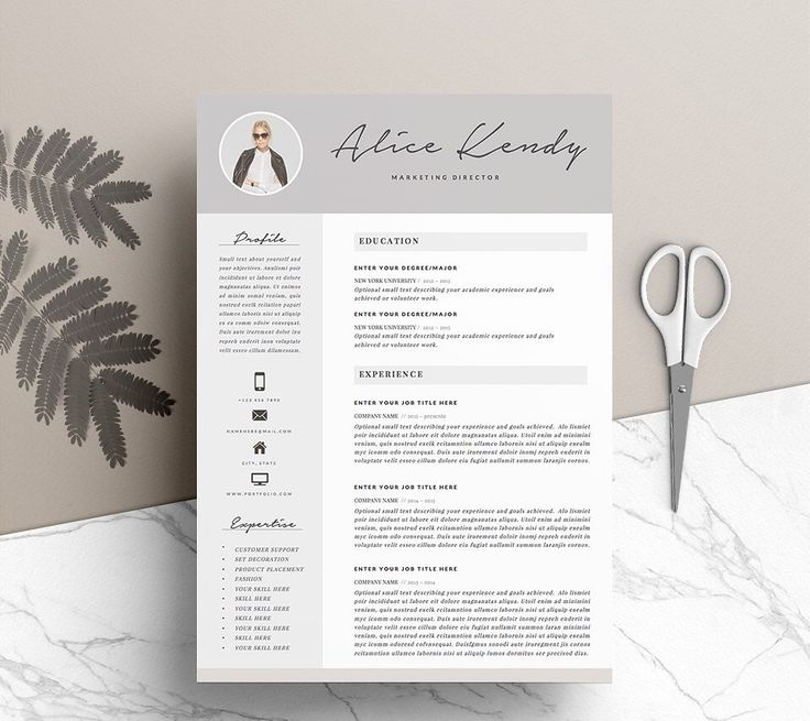Resume Template 4 pages 19 best CV