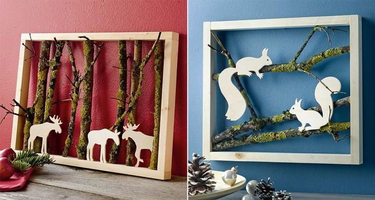 25 beste idee n over winter decoraties op pinterest for Takken decoratie voor het raam