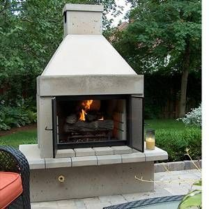 Perfect Outdoor Fireplace BBQ Edition
