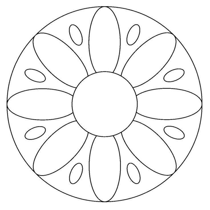 mandalas | Pintar mandalas en el ordenador - Dibujos para colorear - IMAGIXS