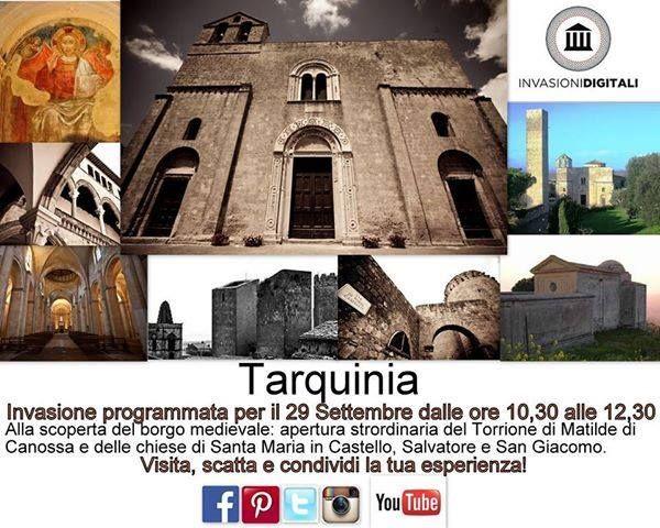 Le bellissime chiese romaniche dell'etrusca Tarquinia