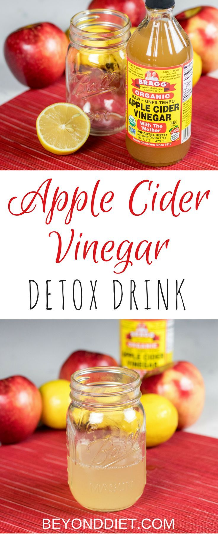 Apple Cider Vinegar Detox Drink - Recharge and detox with this metabolism boosting drink, made from some of Mother Nature's purest superfoods.