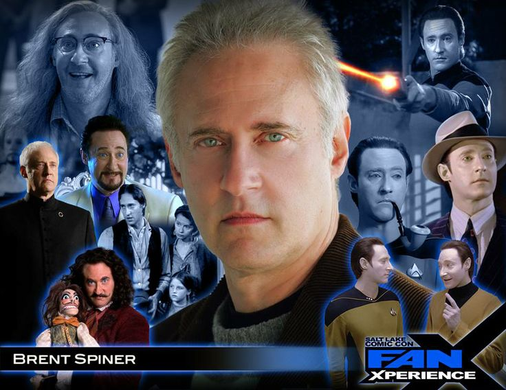We're so excited to welcome Brent Spiner to our 2014 #SLComicCon FanXperience (#FanX). Brent is best known for his roles in Star Trek: The Next Generation television series and movies He has also appeared in many other television shows and movie including Independence Day, The Simpsons, The Aviator, Phenomenon, Big Bang Theory and many others.