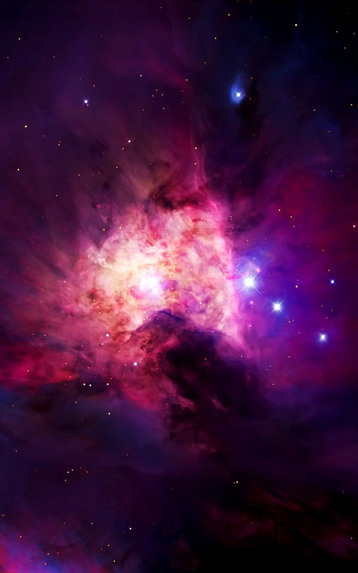 ˚A part of the Orion Nebula