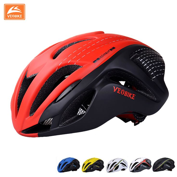 <Click Image to Buy>    New Breathable Cycling Helmet Road Mountain Bike Helmet Safety Equipment Design Ergonomic Oversized Air vents 5 Color ~  #Cycling