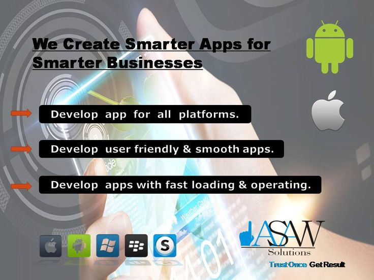 In order to penetrate in #mobile customers, your app must have killer #UI/UX #design and the most is your #business #strategy. Our team of expert #developers never gets satisfied for good even we #design #apps for amazing user experience. Our team closely works with complete #project #life #cycle and converts all your dreams into reality whether it's #android, #iOS,#windows. For more please visit : http://www.asawsolutions.com/