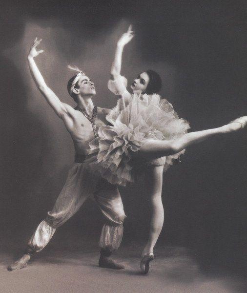 Alla Sizova & Rudolph Nureyev in Le Corsaire pas de deux