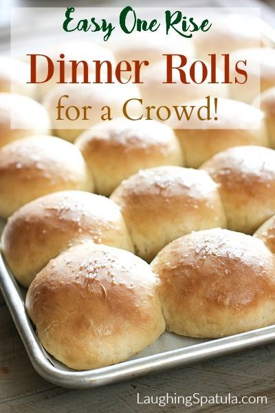 These are so easy to make and nothing is better than homemade bread!  Your family is soooo gonna love you for these!