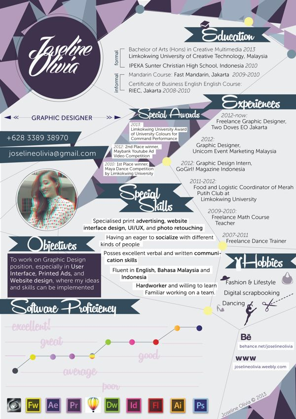 54 best resume images on pinterest cv design cv ideas and