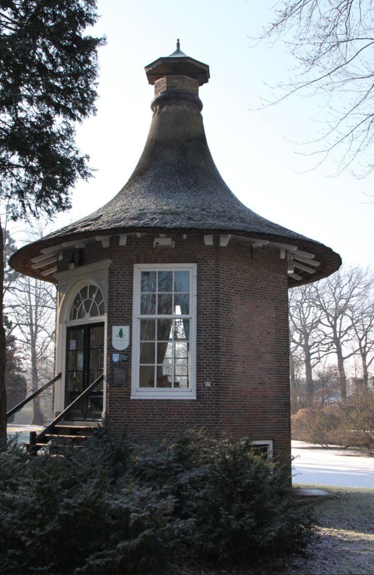 Theehuisje, Wilhelminapark, Meppel, Drenthe.