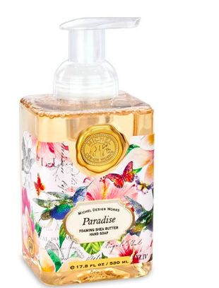 Paradise Foaming Soap Michel Design Works