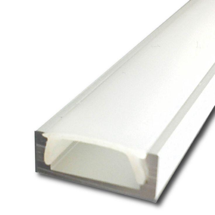 Perfil de Aluminio Mini Anodizado x 2m