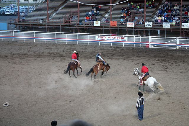 Fun Things to Do in Cody Wyoming: Cody Nite Rodeo