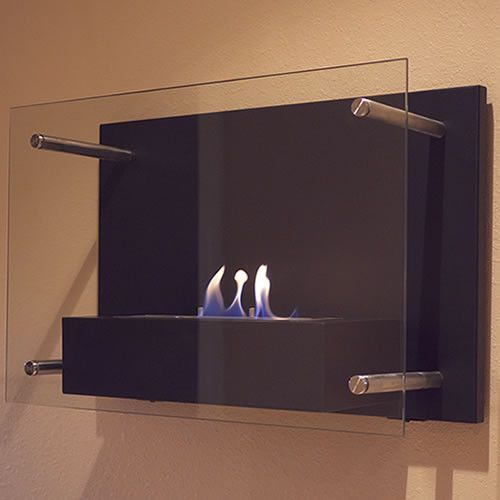 Bluworld Nu-Flame Radia Modern Wall Mounted Fireplace