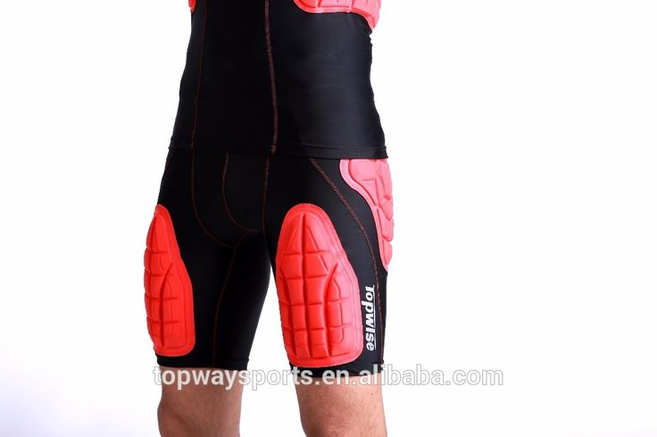 New High Quality Crashworthy Clothing Compression Protective American Padded Rugby Shorts #rugby_clothing, #shorts