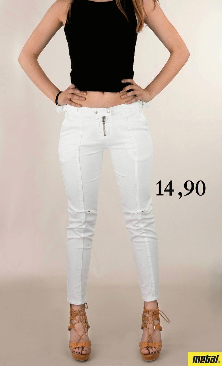 Γυναικείο παντελόνι σκισμένα γόνατα PANT-5290