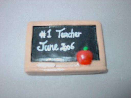 Blackboard magnet - perfect Teacher gift!