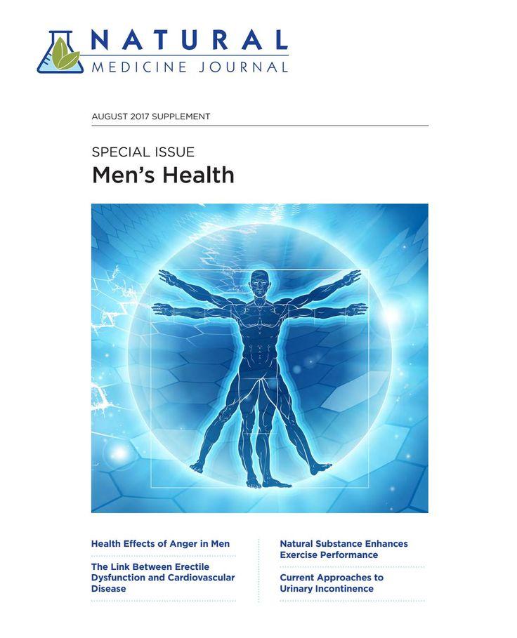 Anger in Men: Health Effects ~ Natural Medicine Journal Men's Health Supplement: Vol 9 No 81