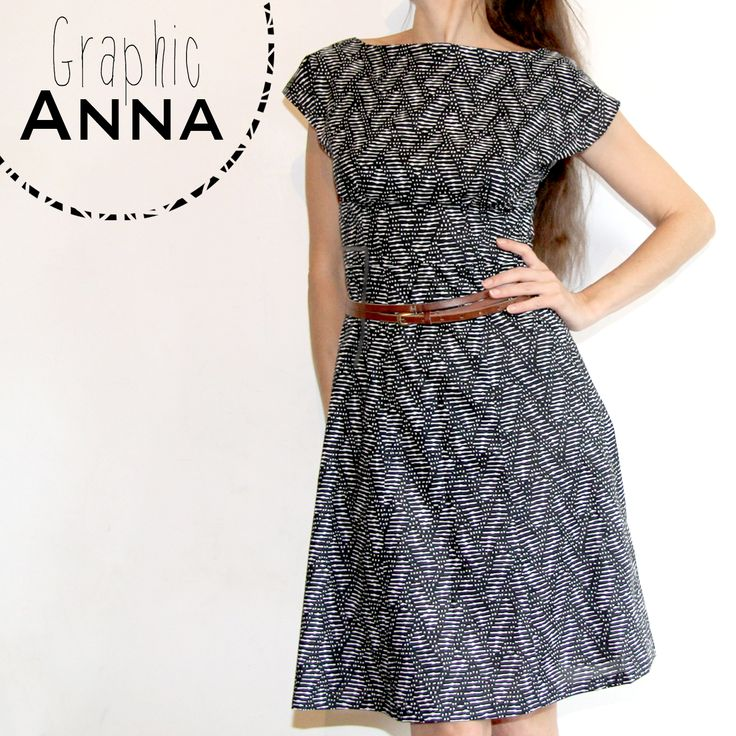 Graphic Anna // Anna dress @By Hand London // Jolies bobines
