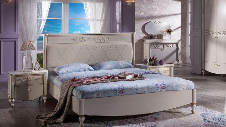 Rustik Yatak Odasi Takimi - İstikbal