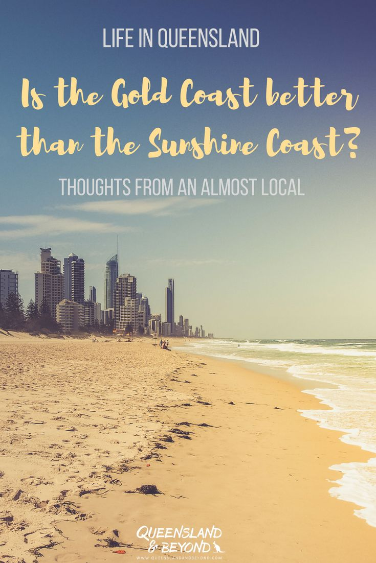 Australia's Gold Coast is no doubt a tourist magnet. But how does it stack up against the Sunshine Coast? Which one is better? Some random thoughts from an almost local. 🌐 Queensland & Beyond   #australia #queensland #goldcoast #sunshinecoast