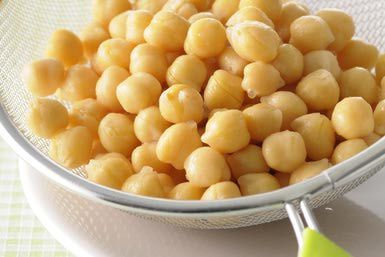 How to Make Chickpea Flour - Garbanzo/Gram Flour, Besan - http://moroccanfood.about.com/od/tipsandtechniques/ht/How-To-Make-Chickpea-Gram-Flour.htm