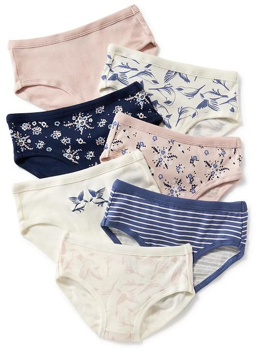 Graphic Print Underwear 7-Pack