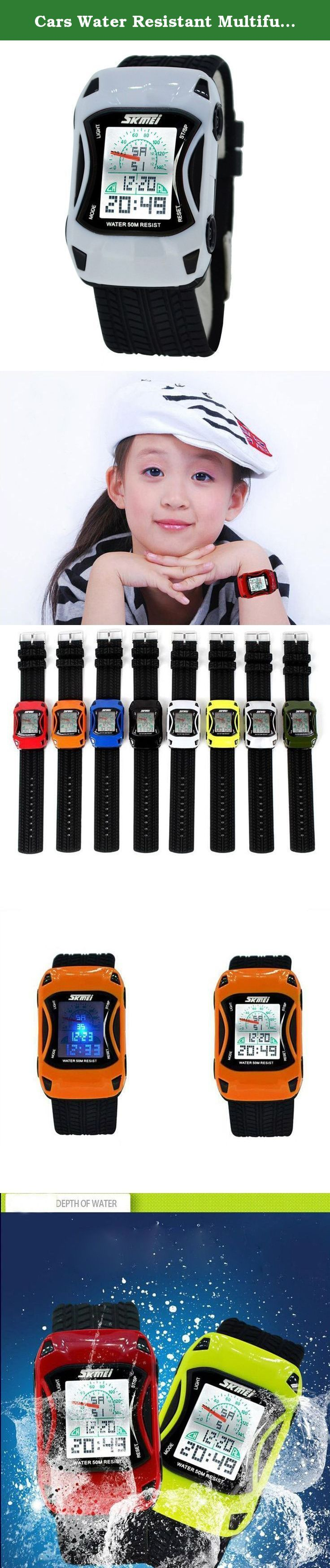 Cars Water Resistant Multifunction Climbing Dive LCD Digital Watches Child's Wristwatch- White. A variety of styles you can choose in our store ! Package Included: 1 x Watch Please Note: 1. Actual color may vary from picture due to computer settings. 2. Find store front of Sunny world, more surprises are waiting for you! Dear Buyer, Thanks for your continuous support to our store, and we are always striving to improve ourselves in terms of service, quality, sourcing, etc. It would be…