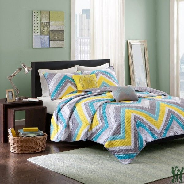 Intelligent Design Melissa Comforter Set Twintwin Xl Size Blue