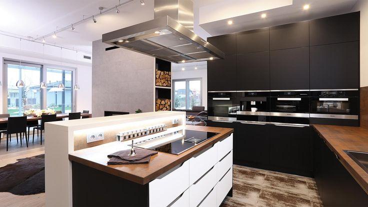 Elite White Black | realizácie kuchyne Sykora