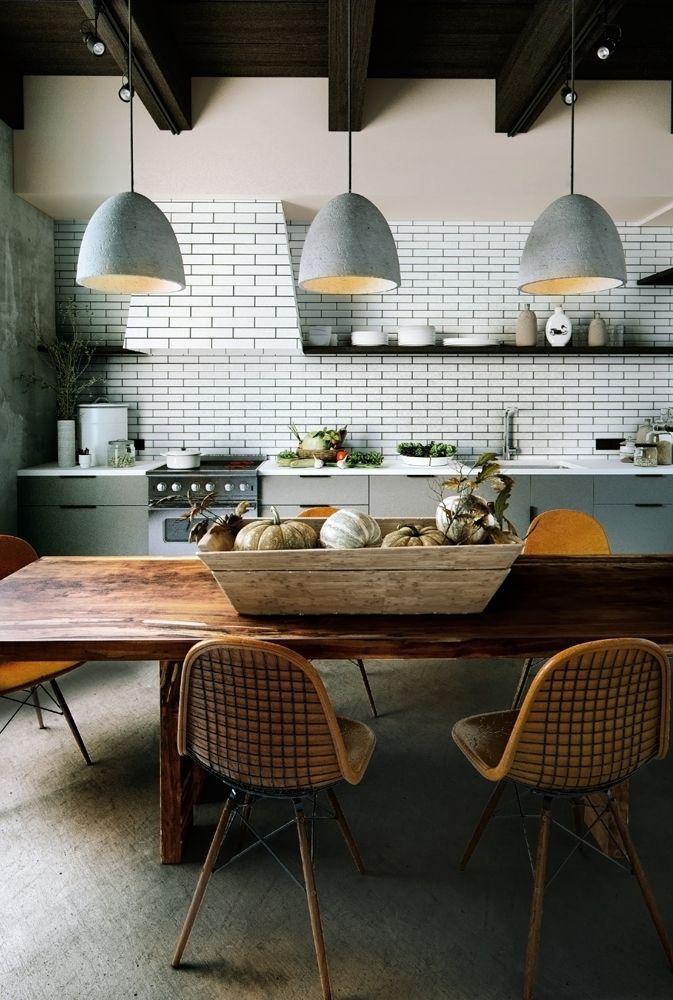 87 best salle manger dining room images on pinterest - Salle a manger rustique ...