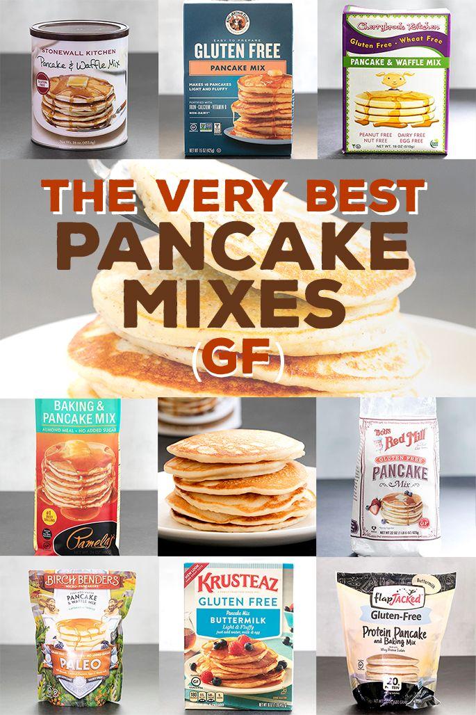 The Best Gluten Free Pancake Mixes