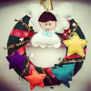 POIANA CU GAZUTZE: Coronite Craciun #fetru #handmade #craciun #cadou #moscraciun #jucarie #coronita #mosnicolae #sarbatori #decoratiuni #ornamente #felt #christmas #ornaments #decorations #toys #christmastree #santa #gift