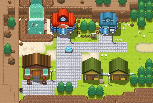 Lavaridge Town remake by Pokemon-Diamond.deviantart.com on @DeviantArt