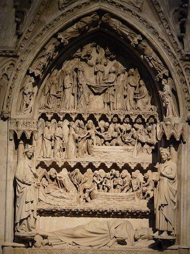 tomb of Dagobert I built in XI century
