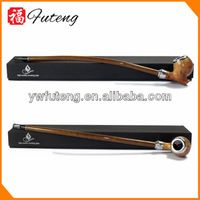 Chinese fancy hand-made dry herbal wooden tobacco pipes bamboo smoking pipe (5526)