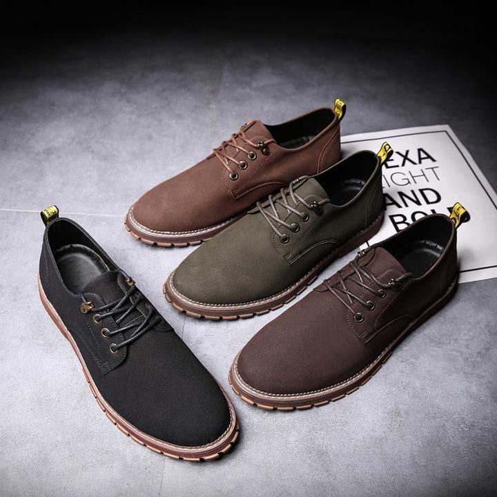 Mens brown casual shoes, Mens