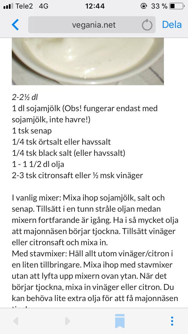 Saffransaioli, ta salt o vinäger istället för citron