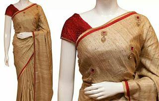 Rangtha closet: Designer Handwork saree  Silk fabric and row silk ...
