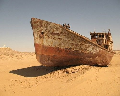 Aral Sea: Desert, Aralsea, Abandoned Ships, Ghosts, Boats, Lakes, Graveyards, The World, Aral Sea