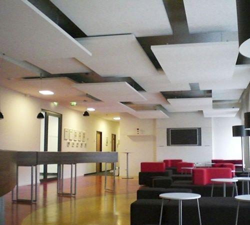 les 25 meilleures id es de la cat gorie plafond acoustique sur pinterest faux plafond. Black Bedroom Furniture Sets. Home Design Ideas