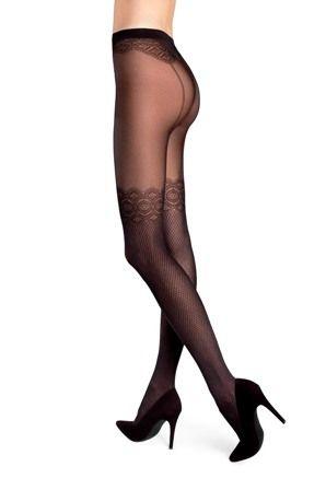 ILIA 24 #tights #pattern #woman #legs #legwear #stockingsimitation #rajstopy #wzorzyste #kobieta