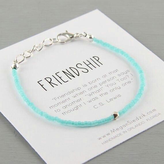 Maybe this one I want some simple but meaning ful. Not just something that says bff